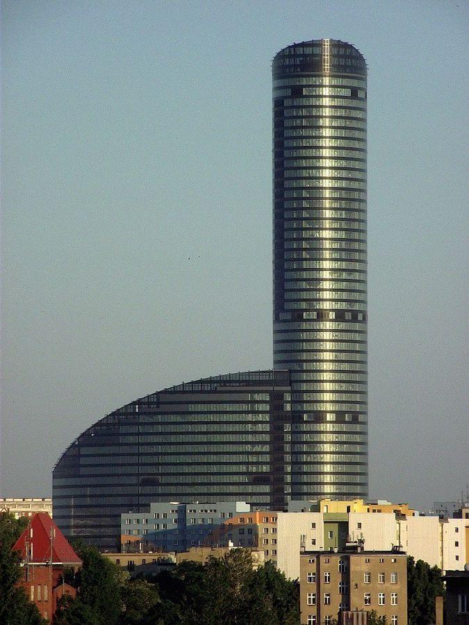 Najwyższy wieżowiec mieszkalny w Polsce